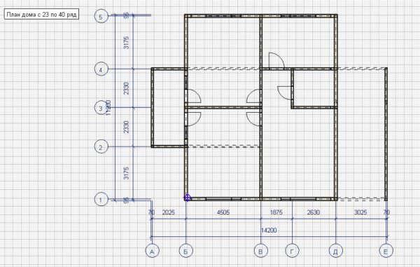 006 Plan 2 etazha 600x381 - Дом 9x11 из профилированного бруса 200x150 и 150x150. Проект ВСН-006-2018. 211м2