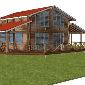 1 12 300x300 - Дом из профилированного бруса 186x180, двухэтажный, площадь=274м2