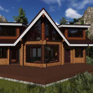 1 13 300x300 - Дом из профилированного бруса 190x130, двухэтажный, площадь=240м2