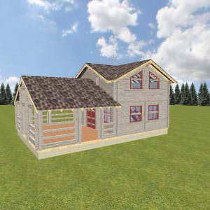 1 29 300x300 - Дом-баня 7х11 из профилированного бруса 150х150 цена