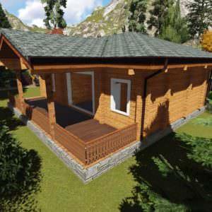 1 3 300x300 - Дом из профилированного бруса 200х200 одноэтажный, площадь=124м2