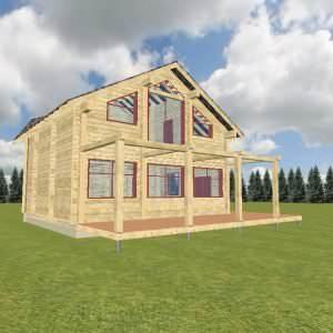 1 30 300x300 - Дом 8х10 из профилированного бруса 200х200 цена