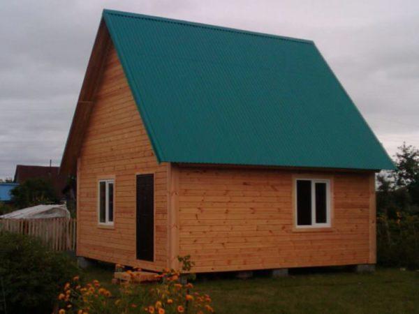 Дом дачный 6x6