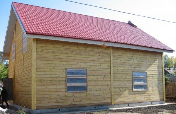 Дом 9x12м