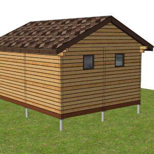 3 24 300x300 - Дом из профилированного бруса 206x250, двухэтажный, площадь=128м2