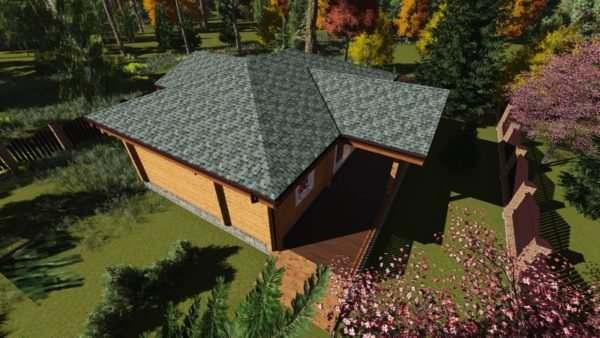 3 3 600x338 - Дом из профилированного бруса 200х200 одноэтажный, площадь=124м2