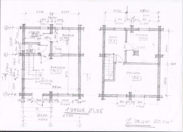 Anton dom banya 45h55 001 600x433 - Проект дома-бани 5x6 из кедра 200x150