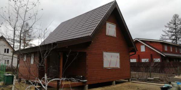 IMG 20181030 WA0003 600x300 - Двухэтажный дачный дом 7,6х7,6 с верандой из профилированного бруса 150х150