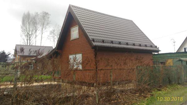 IMG 20181030 WA0006 600x338 - Двухэтажный дачный дом 7,6х7,6 с верандой из профилированного бруса 150х150