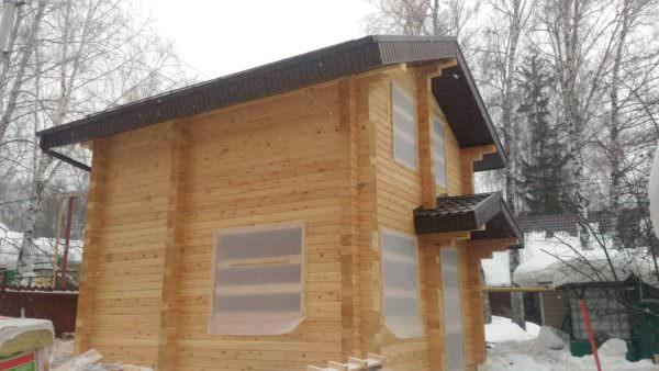 IMG 20190218 WA0034 2 600x338 - Проект дома-бани 5x6 из кедра 200x150