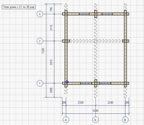 Shema 2 etazh 15.01.19 600x520 - Проект дома-бани 5x6 из кедра 200x150