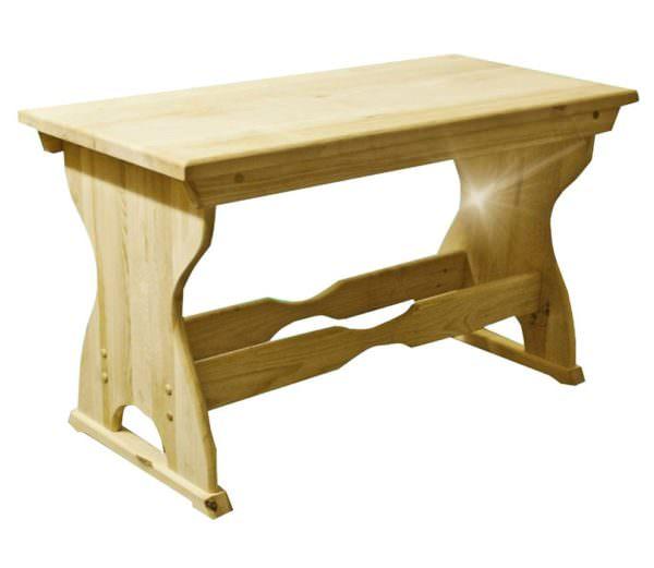Stol iz kedra2 600x521 - Стол из кедра, размером 800x600x760 f=40 мм