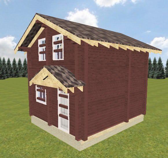 Vid 2 15.01.19 - Проект дома-бани 5x6 из кедра 200x150