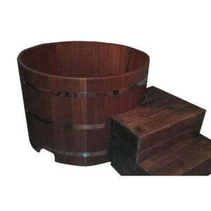 kupel 1 00 300x300 - Купель из кедра 100x100x40 круглая