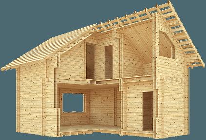 технология двойной брус в малоэтажном строительстве домов