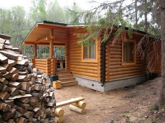 stroitelstvo bani - Этапы строительства бани